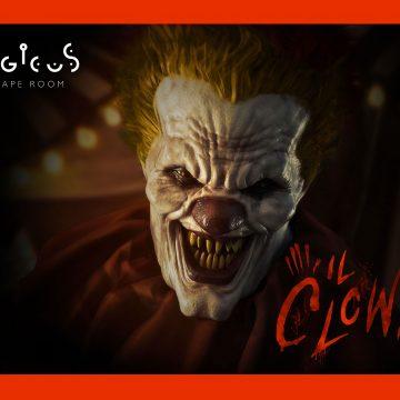 Logicus escape room a cagliari la copertina del clown