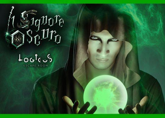 Logicus escape room a cagliari la copertina del signore oscuro