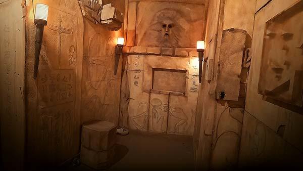 Escape room cos'è la mummia room