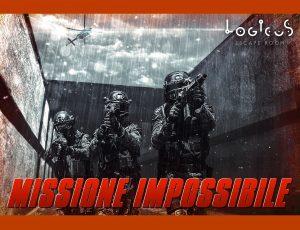 Logicus escape room a cagliari la copertina di missione impossibile