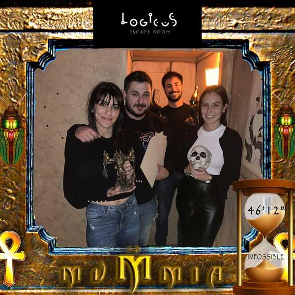 Escape room cagliari migliori mummia impossible record