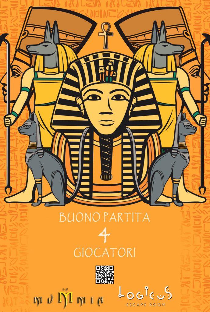 Gift Card la Mummia di Logicus escape room