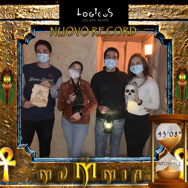 Escape room cagliari migliori mummia impossible record 2