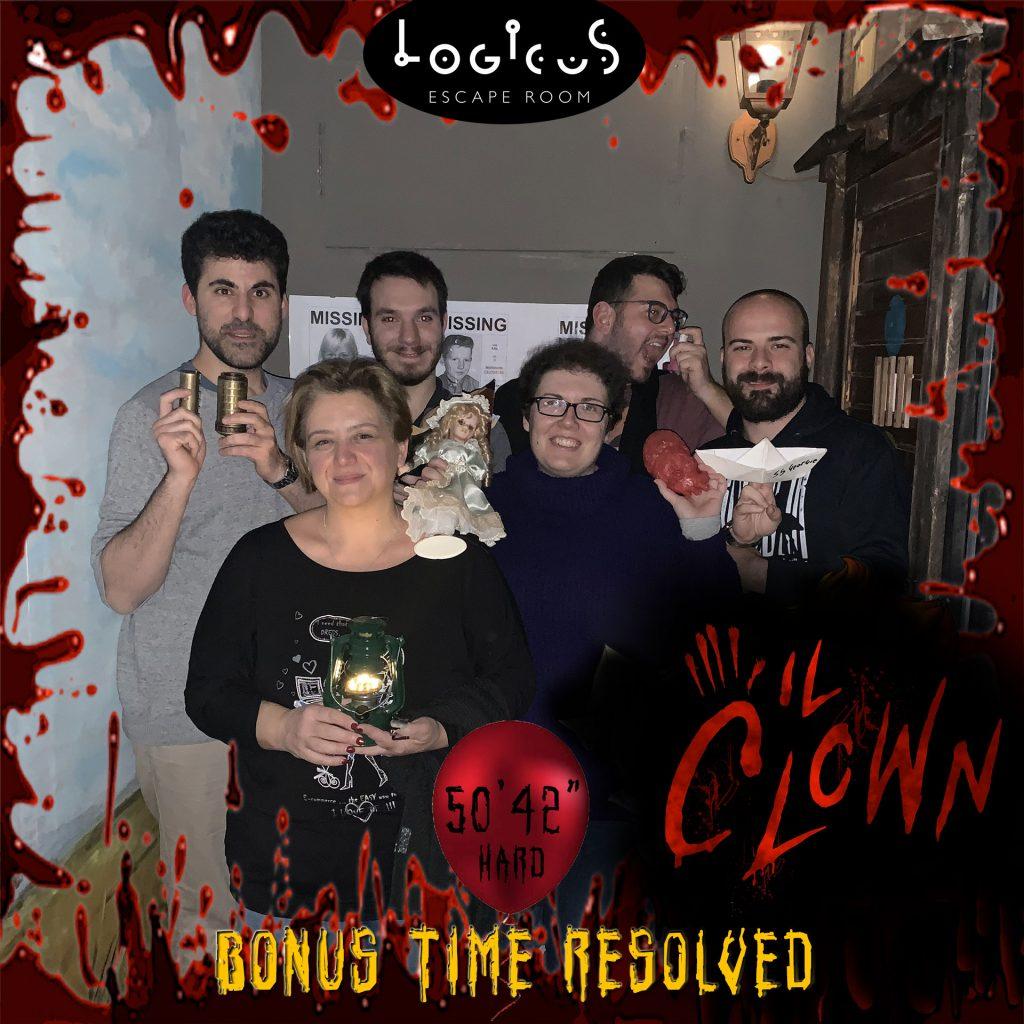 Bonus time resolved