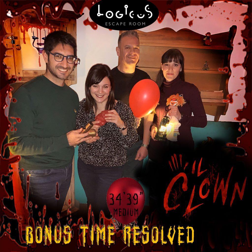 escape room a cagliari i migliori Record del Clown in Medium