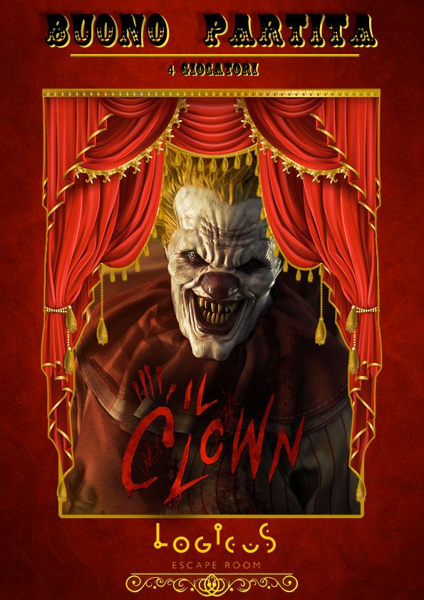 Gift Card Il Clown Logicus escape room